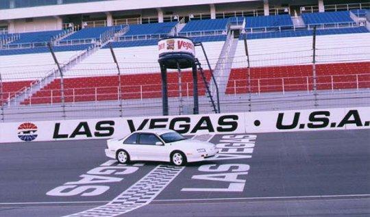 At Las Vegas Motor Speedway